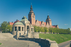 Szczecin - historical architecture / Haken terraces Royalty Free Stock Photography
