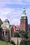 Szczecin- the historical buildings Stock Photos