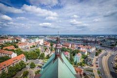 Szczecin i Polen Royaltyfria Foton