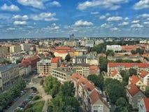Szczecin i Polen royaltyfri fotografi