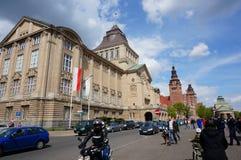 Szczecin nationellt museum Arkivbild