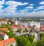 Szczecin - Panorama Royalty Free Stock Image
