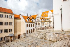 Ducal castle in Szczecin Royalty Free Stock Photo