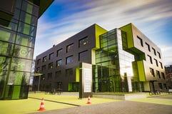 SZCZECIN, POLAND-CIRCA НОЯБРЬ 2015: комплекс buildin офиса Стоковые Изображения RF