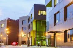 SZCZECIN, POLAND-CIRCA НОЯБРЬ 2015: комплекс buildin офиса Стоковое фото RF