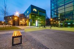 SZCZECIN, POLAND-CIRCA NOVEMBER 2015:a complex of office buildings Stock Photos
