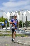Szczecin, Poland, July 9, 2017: Triathlon Szczecin, Triathletes Stock Image