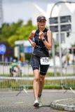 Szczecin, Poland, July 9, 2017: Triathlon Szczecin, Triathletes Royalty Free Stock Image