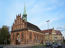 Free SZCZECIN, POLAND – OCTOBER 25: St. Peter`s Church, Historic Gothic Brick Building In The City Centre, Today Religious House Of Stock Images - 162225324