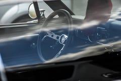 Szczecin, Polen, 17 Juli, 2017: Ford Mustang 289, binnenmening Royalty-vrije Stock Afbeeldingen