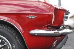 Szczecin, Polen, 17 Juli, 2017: Ford Mustang 289, mening op een det Stock Foto