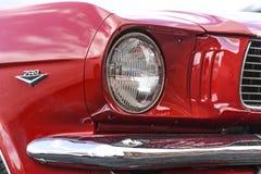 Szczecin, Polen, 17 Juli, 2017: Ford Mustang 289, mening op een det Royalty-vrije Stock Afbeelding