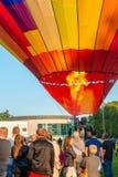 Szczecinek, Πολωνία, στις 8 Ιουλίου 2017: Φεστιβάλ μπαλονιών σε Szczecinek Στοκ φωτογραφία με δικαίωμα ελεύθερης χρήσης