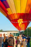 Szczecinek, Polen, 08 Juli 2017: Ballonfestival in Szczecinek Royalty-vrije Stock Fotografie