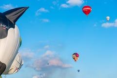 Szczecinek, Polen, 08 Juli 2017: Ballonfestival in Szczecinek Royalty-vrije Stock Foto's