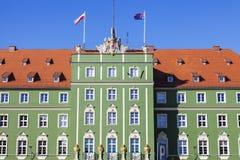 Szczecinstadhuis Royalty-vrije Stock Afbeelding