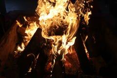 Szczegóły płonąca łupka zdjęcie royalty free