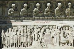 szczegółów Italy miracoli Pisa kwadrat Obraz Royalty Free