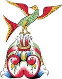 szczegółów ornamentacyjny ortodoksyjny wzoru wierzchołka wektor Obrazy Stock