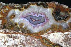 Szczegół ładny agat kopaliny tło Zdjęcie Stock