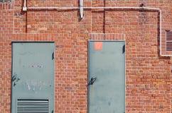 Szczegół ściana Fotografia Royalty Free