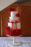 Szczegół ślubu tort Obrazy Royalty Free