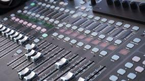 Szczegół Audio deska przystosowywa maszynę dla soundboard zbiory wideo