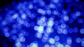 Szczegół błękitna narastająca wiązka światłowodu tło, postu lekki sygnał dla wysokiego prędkości połączenie z internetem, zmiany  ilustracji