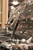 Szczegół bagażnik na art deco samochodzie Obrazy Royalty Free
