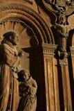 Szczegół barokowa architektura w San Fransisco obraz stock