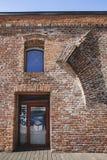 Szczegół bastion Maria Theresia - średniowieczny forteca miasto na Wrześniu 08, 2017 w Timisoara Fotografia Stock