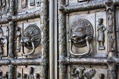szczegół bramy Magdeburg zdjęcie royalty free