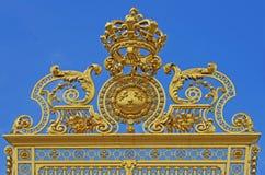 Szczegół bramy, pałac Versaille Obraz Stock