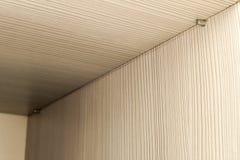 Szczegół budowy wnętrze drewniany szelfowy meble Zdjęcie Royalty Free