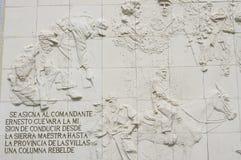 Szczegół Che Guevara zabytek zdjęcia stock