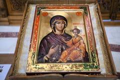 szczegół chrześcijańska ikona Zdjęcie Royalty Free