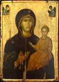 szczegół chrześcijańska ikona Obrazy Stock