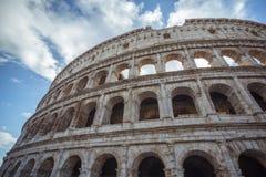 Szczegół Colosseum Rzym w Włochy, Europa Zdjęcia Stock