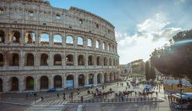 Szczegół Colosseum Rzym w Włochy, Europa Zdjęcie Stock