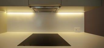 Szczegół czarne elektryczne kuchenki zdjęcia stock