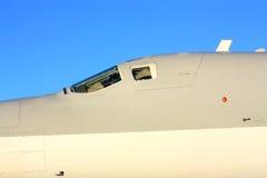 Szczegół dalekonośnej bombowiec Tu-22M ` Obraca się przeciwko ` Obraz Royalty Free