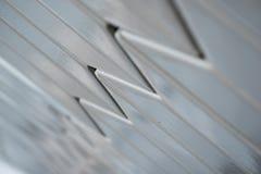Szczegół dekoracyjna zewnętrzna ściana z płytką głębią pole Obrazy Stock