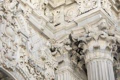 Szczegół Dolmabahce pałac w Istanbuł Fotografia Stock