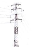 Szczegół elektryczność pilon przeciw zdjęcie stock