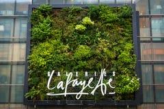 Szczegół fasada centrum handlowe Galeries Lafayette na Friedrichstrasse Zdjęcie Royalty Free
