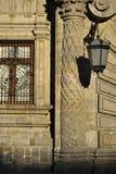 Szczegół fasada rządowy pałac w Guadalajara Meksyk Fotografia Stock