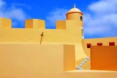 szczegół fortyfikacja Obraz Royalty Free