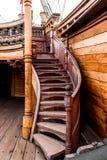 Szczegół Galeone Neptune statek zdjęcia royalty free