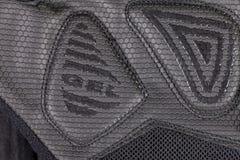Szczegół gel poparcia cyklista rękawiczka obrazy stock