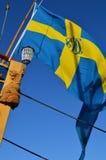 Szczegół historyczny żagla statek Zdjęcia Royalty Free